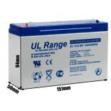 Akumulator żelowy ULTRACELL UL 6V 12AH