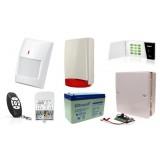 Alarm Satel Micra LED, MPT-300, 6xMPD-300 PET, syg. zew. Beewell