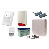 Alarm Satel Micra, 2xT-4, 4xMPD-300 PET, syg. zew. Beewell