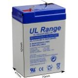 Akumulator żelowy ULTRACELL UL 6V 4.5AH