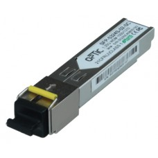 MODUŁ SFP WDM OPTIC SFP 1.25Gbps, SC SM, 10dB (3km)  TX1550/RX1310