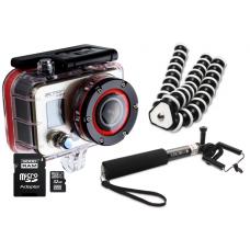 Zestaw Kamera RD990 + uchwyt + ramię + SD