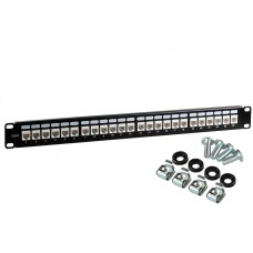 PATCH PANEL UTP CAT.6 24 PORTY PGF-6UTP24-B0 GETFORT
