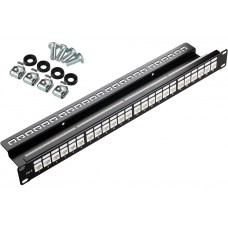 PATCH PANEL UTP CAT.6 24 PORTY PGF-6UTP24-B1 GETFORT