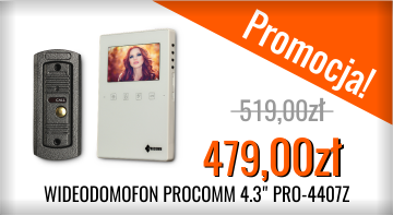 Promocja wideodomofon