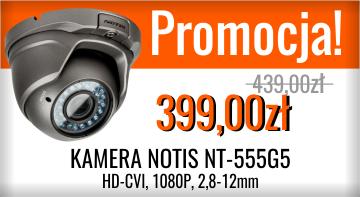 Promocja kamery HD-CVI