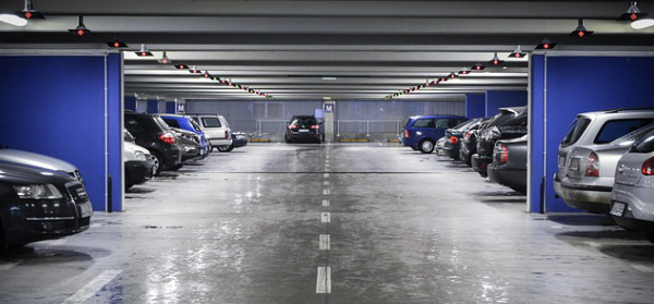 System monitoringu parkingu