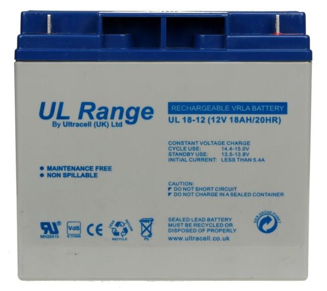 Akumulator ULTRACELL LIMITED 12V 18Ah