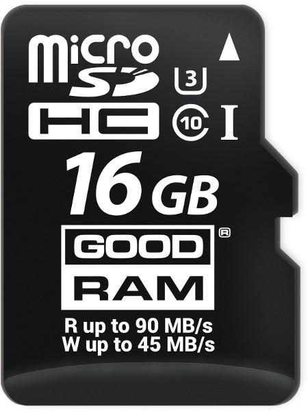 Karta Pamieci Micro Sd Goodram Uhs1 Cl10 U3 16gb Adapter Sklep