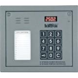Laskomex CP-2502NP srebrny Panel audio z mini listą lokatorów