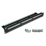PATCH PANEL UTP CAT.5E 24 PORTY PGF-5EUTP24-B3 GETFORT