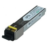 MODUŁ SFP WDM OPTIC 1.25Gbps, SC SM, 10dB (3km)  TX1550/RX1310