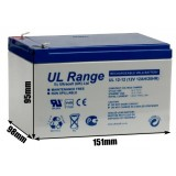 Akumulator żelowy ULTRACELL UL 12V 12AH