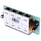 ADAPTER POE INJECTOR 4 PORTY