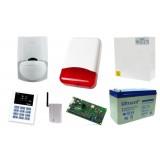 Alarm Satel CA-5 LED, GSM, 4xLC-100 PI, syg. zew. TI-700