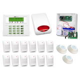 ALARM SATEL VERSA 15 LCD, 12xAQUA+/3xAQUA RING, SPL-5010, GPRS-T4