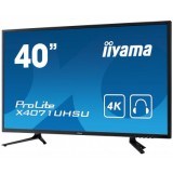 "Monitor LED IIYAMA X4071UHSU-B1 40"" 4K"