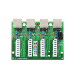 Moduł LAN z zabezpieczeniem przeciwprzepięciowym PRO z funkcją InPoE EWIMAR PTU-4-PRO/InPoE