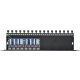 8-kanałowe zabezpieczenie IP serii EXTREME z ochroną PoE EWIMAR PTU-8R-EXT/PoE