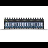 16-kanałowy panel zabezpieczający LAN z ochroną przepięciową PoE EWIMAR PTU-16R-ECO/PoE
