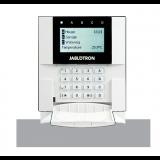 JA-150E Bezprzewodowa klawiatura LCD magistralowa w budowanym czytnikiem RFiD, obsługa 4 niezależnych stref