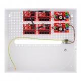Zestaw do 17 kamer IP switch PoE 17P+1UP ATTE IP-17-11-H
