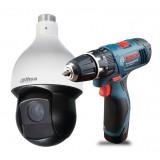 KAMERA IP DAHUA DH-SD59230T-HN + Wkrętarka Bosch