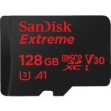 Karta pamięci SANDISK EXTREME microSDXC 128GB 100/90 MB/s A1 C10 V30 UHS-I U3