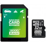 KARTA PAMIĘCI MICRO SD GOODRAM UHS1 CL10 U3 32GB + ADAPTER