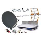 Kompletny Zestaw Satelitarny NC+ DVB-T TNK Czasza Konwerter
