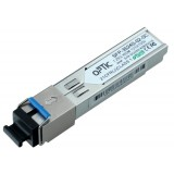MODUŁ SFP WDM OPTIC 1.25Gbps, SC SM, 10dB (3km)  TX1310/RX1550