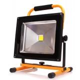 Naświetlacz przenośny LED TEMPO 50W 4000K z akumulatorem
