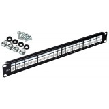 PATCH PANEL UTP CAT.5E 24 PORTY PGF-5EUTP24-B0 GETFORT