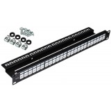 PATCH PANEL UTP CAT.5E 24 PORTY PGF-5EUTP24-B1 GETFORT