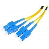 PATCHCORD SM 2M DUPLEX 9/125, SC/UPC-SC/UPC 3MM
