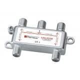 Rozgałęźnik 1-4 DVB-T SAT 4x1