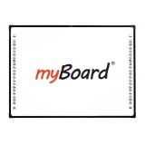 """Tablica interaktywna dotykowa, optyczna myBoard Black 4C 84"""" Nano"""