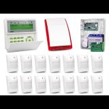 Zestaw alarmowy SATEL Integra 128-WRL, Klawiatura LCD, 14 czujek, sygnalizator zewnętrzn, powiadomienie