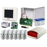 Alarm ROPAM OptimaGSM-PS, 6xDSC, Syg. zewn. AP-IP