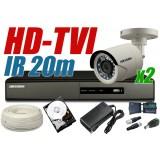 ZESTAW MONITORINGU HD-TVI HT11