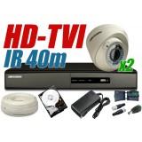 ZESTAW MONITORINGU HD-TVI HT14