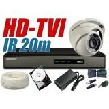 ZESTAW MONITORINGU HD-TVI HT1
