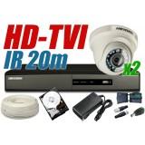 ZESTAW MONITORINGU HD-TVI HT8