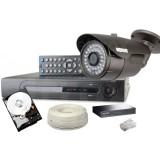 Zestaw monitoringu IP 1 kamera 1080P