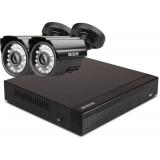 Zestaw startowy AHD, 2x Kamera HD/IR20, Rejestrator 4ch