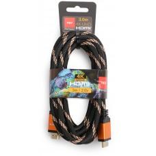 Kabel HDMI-HDMI Opticum RED 4K UHD – 3m (v2.0)