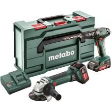 Metabo Combo Set 2.4.4 18 V Wiertarka udarowa SB18 + Szlifierka W18