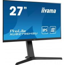 Monitor LED IIYAMA XUB2796HSU-B1 HAS + Pivot 1ms FreeSync