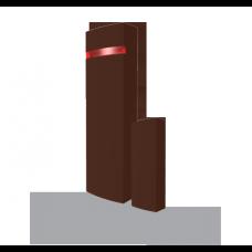 JA-150MB Bezprzewodowa czujka otwarcia z funkcją transmitera, kolor brązowy.