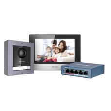 ZESTAW WIDEODOMOFONOWY DS-KIS602 Hikvision